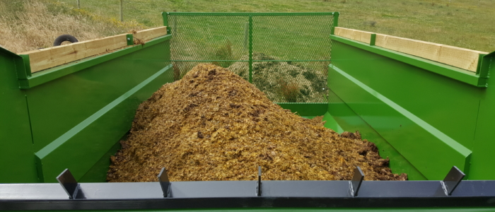 Silage Wagon Clean low friction sides