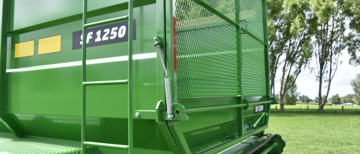 Silage Wagon Access Ladder