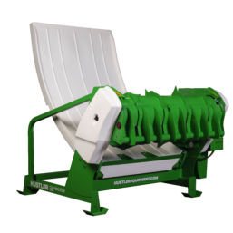 Hustler Chainless mounted bale feeder LX104
