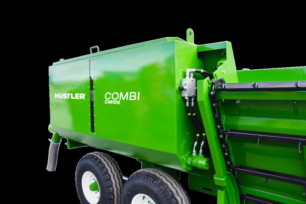 Grain Bin - Combi CM106 Hustler